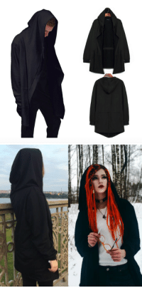 Family, Friends, and Tumblr: saltycaffeine:  Ultra Soft One of a Kind Dark Cloak Hoodie made with Premium Cotton Material. Perfect for a chilly Evening. A Great Gift for your Friends and Family! ***USE COUPON CODE: HOODIE FOR A DISCOUNT*** – GET IT HERE –