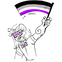 Target, Tumblr, and Blog: saltymilkcharacterasks:  AGGRESSIVELY PROUD!!! TO BE ACE!!! HAPPY ACE DAY!!!!