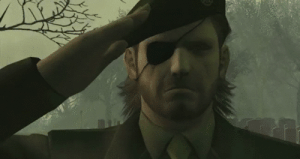 Image result for salute metal gear