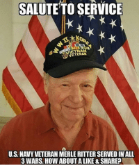 This is what a Savage looks like. True Hero right here. 🇺🇸 Bless you and thank you for your services. Repost @_american.military_: SALUTE TO SERVICE  VETERAN  U.S NAVY VETERAN MERLE RITTER SERVEDINALL  3 WARS. HOW ABOUT ALIKE &SHARE This is what a Savage looks like. True Hero right here. 🇺🇸 Bless you and thank you for your services. Repost @_american.military_