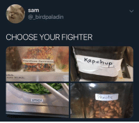 Life, Dank Memes, and Team: sam  @_birdpaladin  CHOOSE YOUR FIGHTER  Kepehv  Ranibow Sprimkle  Penuts  SPINCH Team spinch for life