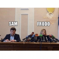 la mayor injustisia d la historia: SAM  FRODO la mayor injustisia d la historia