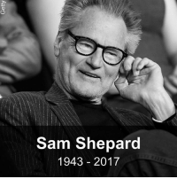 Actor and playwright Sam Shepard has died at the age of 73, according to US media. He won the Pulitzer Prize for drama for Buried Child in 1979. He went on to be nominated for the best supporting actor Oscar for 1983 film The Right Stuff and starred in films like Black Hawk Down. More recently he was seen in Netflix thriller Bloodline. bbc.in-SamShepard rip samshepard bbcnews: Sam Shepard  1943 2017 Actor and playwright Sam Shepard has died at the age of 73, according to US media. He won the Pulitzer Prize for drama for Buried Child in 1979. He went on to be nominated for the best supporting actor Oscar for 1983 film The Right Stuff and starred in films like Black Hawk Down. More recently he was seen in Netflix thriller Bloodline. bbc.in-SamShepard rip samshepard bbcnews