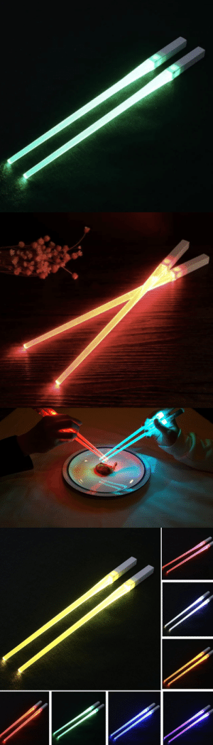 samanthasmiless:  This eco Friendly Lightup Chopstick is the perfect fun and durable utensil you will ever need for a fun dinner in the Dark or at a Party! Easy to use with a click of a button! A UNIQUE and Perfect gift for your Friends and Family!=> AVAILABLE HERE <=: samanthasmiless:  This eco Friendly Lightup Chopstick is the perfect fun and durable utensil you will ever need for a fun dinner in the Dark or at a Party! Easy to use with a click of a button! A UNIQUE and Perfect gift for your Friends and Family!=> AVAILABLE HERE <=
