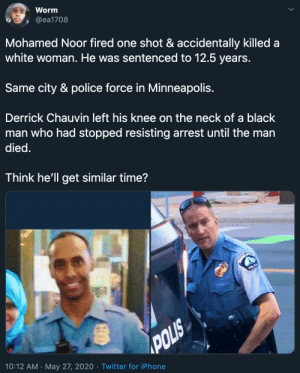 Same city. Same police force. Time will tell, but what do you think? (via /r/BlackPeopleTwitter): Same city. Same police force. Time will tell, but what do you think? (via /r/BlackPeopleTwitter)