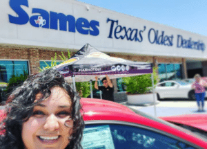 Beautiful, Memes, and Drive: Sames Texas Odes Telente Monica & Vanish out at Sames Ford for Customer Appreciation Month! 2 years free maintenance at Sames, come by for details and to test drive anyone of these beautiful Ford vehicles 🚘 #IAmHot1061