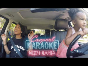 Tumblr, Blog, and Http: SAMIA latoyaforever:TODDLER CARPOOL KARAOKE