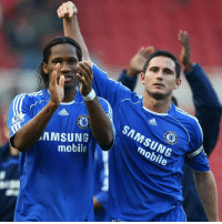 """I liked very much Frank Lampard and Didier Drogba. I liked the way they played and even more when I came here and I had the chance to have them in the dressing room. As idols, they became even bigger.""  - Chelsea Football Club defender Cesar Azpilicueta: SAMSUNG  mobile  mobile ""I liked very much Frank Lampard and Didier Drogba. I liked the way they played and even more when I came here and I had the chance to have them in the dressing room. As idols, they became even bigger.""  - Chelsea Football Club defender Cesar Azpilicueta"