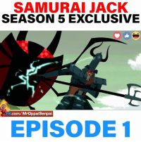 WHoly Moly this is INSANE!! Jack aint playing around yall 😱😱: SAMURAI JACK  SEASON 5 EXCLUSIVE  .com/Mroppaisenpai  FB  EPISODE 1 WHoly Moly this is INSANE!! Jack aint playing around yall 😱😱