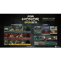 """The For Honor Open Beta is now live on all Platforms! ▪▪▪▪▪▪▪▪▪▪▪▪▪▪▪▪▪▪▪▪▪▪ ♤Check out our Sponsor♤ @gentlemans_beard_balm Use Promo code:""""lockjaw"""" for 15% off! ▪▪▪▪▪▪▪▪▪▪▪▪▪▪▪▪▪▪▪▪▪▪ 》Www.LockjawGaming.com《 ▪▪▪▪▪▪▪▪▪▪▪▪▪▪▪▪▪▪▪▪▪▪ Tags: Games Gamer GamerLife GuyGamer GirlGamer Gaming VideoGames XboxOne CallofDuty LockjawGaming funny meme lol gamingmemes Xbox360 Xbox XboxOne ps4 playstation pc battlefield1 InfiniteWarfare titanfall2 overwatch GTAV forhonor: SAMURAI  VIKINGS  KNIGHTS  FOR  HONOR  OPEN BETA  9 PLAYABLE HEROES  ORODH KENSEI NogusH  RAIDER BERSIRATR WARLORD  EUAMENANON4VS4  PEACEKEEPER  CONOUEROR  forhonor game.com  FEBRUARY 9-12, 2017  PC PLAYSTATION 4 XBOX ONE  6 MAPS  CITADEL GTE  CATHEDRAL  4 GAME MODES  DOMNION 4VS4  AND  FACTION WAR  UBISOFT The For Honor Open Beta is now live on all Platforms! ▪▪▪▪▪▪▪▪▪▪▪▪▪▪▪▪▪▪▪▪▪▪ ♤Check out our Sponsor♤ @gentlemans_beard_balm Use Promo code:""""lockjaw"""" for 15% off! ▪▪▪▪▪▪▪▪▪▪▪▪▪▪▪▪▪▪▪▪▪▪ 》Www.LockjawGaming.com《 ▪▪▪▪▪▪▪▪▪▪▪▪▪▪▪▪▪▪▪▪▪▪ Tags: Games Gamer GamerLife GuyGamer GirlGamer Gaming VideoGames XboxOne CallofDuty LockjawGaming funny meme lol gamingmemes Xbox360 Xbox XboxOne ps4 playstation pc battlefield1 InfiniteWarfare titanfall2 overwatch GTAV forhonor"""