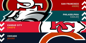Week 9 Power Rankings 1. @Patriots  2. @49ers  3. @Saints  4-32: https://t.co/MuiplCdafW https://t.co/3e2yYKCg2Z: SAN FRANCISCO  49ERS  PHILADELPHIA  EAGLES  KANSAS CITY  CHIEFS  CHICAGO  BEARS Week 9 Power Rankings 1. @Patriots  2. @49ers  3. @Saints  4-32: https://t.co/MuiplCdafW https://t.co/3e2yYKCg2Z