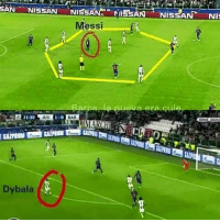 Memes, Game, and Messi: SAN  NISSAN  NISSAN  NISSAN  Messi  Dybala  NIS Diffrence Between Leo Messi and Dybala In Last night game
