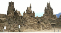 Castle, Boss, and Like a Boss: sand castle LIKE A BOSS