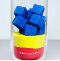Drop, squish and smoosh. - By @sand.tagious - 9gag oddlysatisfying: @sand.tagio Drop, squish and smoosh. - By @sand.tagious - 9gag oddlysatisfying