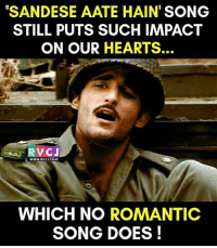 This song is ❤ rvcjinsta indian india: SANDESE AATE HAIN SONG  STILL PUTS SUCH IMPACT  ON OUR HEARTS.  RVC J  www.RVCU.COM  WHICH NO ROMANTIC  SONG DOES! This song is ❤ rvcjinsta indian india