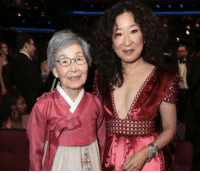 Life, Memes, and Mom: Sandra Oh and her mom at the Emmys for her historic nom because it is life https://t.co/88tCqHPaFd