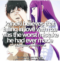 QOTD: Kaneki or Rize? | Follow @ruianime for Anime Facts | ⭐️ . . Cr. wootanime: Saneki pelkeves nat  alingialowe  was the worst mistake  he had ever mac  The doctor did some tweaking  and we got turned into  a monster QOTD: Kaneki or Rize? | Follow @ruianime for Anime Facts | ⭐️ . . Cr. wootanime