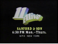 WPIX Archives sent us this vintage promo for Sanford and Son that aired on PIX 11 back in the day. You can watch Sanford and Son weeknights at 6 & 6:30p ET on Antenna TV.  What channel do you remember watching Sanford and Son on for the first time?: SANFORD SON  6:30 PM Mon.-Thurs.  WPIX NEW YORK WPIX Archives sent us this vintage promo for Sanford and Son that aired on PIX 11 back in the day. You can watch Sanford and Son weeknights at 6 & 6:30p ET on Antenna TV.  What channel do you remember watching Sanford and Son on for the first time?