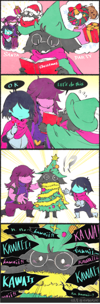 kohn-ningezoo-fanart:Merry Christmas Ralsei: SANTA  PARTY  Christmas  LETs do this  wa!  KAWAIT  kawal  Kawaii!!  Kawaiii  KAWAI  KWAIT  Ka. kawaii  有瓜音⑨ ningen200 kohn-ningezoo-fanart:Merry Christmas Ralsei