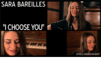 "<p><a href=""https://www.youtube.com/watch?v=bXjoCfqlWrI"" target=""_blank""><strong>Sara Bareilles: I Choose You</strong></a></p> <p>New Web Exclusive! Sara Bareilles performs an acoustic version of &ldquo;I Choose You&rdquo; in the Tonight Show&rsquo;s music room. </p>: SARA BAREILLES  ""I CHOOSE YOU'  #FALLONTO NIGHT <p><a href=""https://www.youtube.com/watch?v=bXjoCfqlWrI"" target=""_blank""><strong>Sara Bareilles: I Choose You</strong></a></p> <p>New Web Exclusive! Sara Bareilles performs an acoustic version of &ldquo;I Choose You&rdquo; in the Tonight Show&rsquo;s music room. </p>"