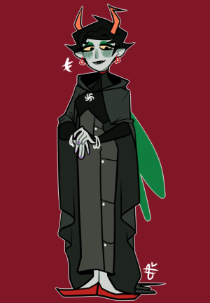 sarcasmprodigy: Anon I'm so sorry you said comfortable and then Kanaya and I made a vampire instead. : sarcasmprodigy: Anon I'm so sorry you said comfortable and then Kanaya and I made a vampire instead.