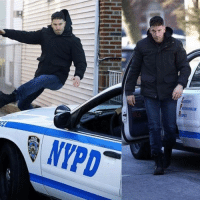 Memes, Nypd, and Jon Bernthal: sarEST  Pssrtssauss  ASFESSOR LLIE  liner  NYPD Photos of Jon Bernthal from the set of The Punisher series!