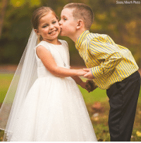 "Best Friend, Life, and Memes: Sassy Mouth Photo A little girl who was born with a life-threatening heart condition saw a big wish come true recently, when she was able to ""marry"" her best friend in a special playground ceremony. Sophia Elyssa Chiappalone, of Connecticut, has already undergone two open-heart surgeries and several other procedures, and had made the special request ahead of a third surgery."