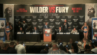 FURY VS WILDER: We're live from the final press conference before the Heavyweights clash on Saturday night.  Ruptly x Showtime Networks: SAT DEC1  LIVE ON  PAY-PER-VIEW  9h 6  LDER  FURY FURY VS WILDER: We're live from the final press conference before the Heavyweights clash on Saturday night.  Ruptly x Showtime Networks