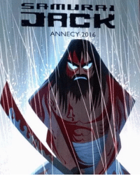 anybody else hyped for samurai jack's return on toonami?! I recommend reading the IDW comics to hold you over. however, the final issue was disappointing.: SATI LI RR  DIRCK  ANNECY 201 6 anybody else hyped for samurai jack's return on toonami?! I recommend reading the IDW comics to hold you over. however, the final issue was disappointing.