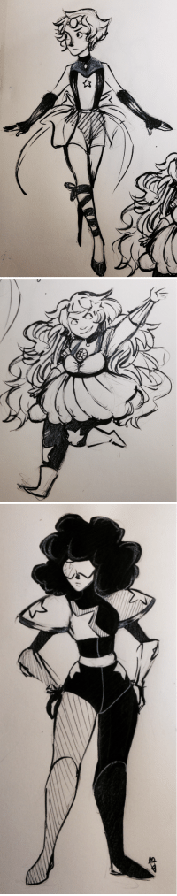 Anime, Target, and Tumblr: satodoodle:  What if Steven Universe was an anime? :V