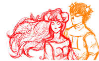 Target, Tumblr, and Blog: satodoodle:  WIP (?) AraSol will be an otp of mine 5ever