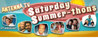 Love, Memes, and Sabrina, the Teenage Witch: Saturday  ANTENNA hons  50 ANNIVERSARY! Antenna TV's Saturday Summer-thons are back!  Tune in every Saturday from 1-10pm ET starting May 29 for fan favorites from the TV shows you love.  6/3: Mork & Mindy 6/10: The Monkees 6/17: Good Times 6/24: Sanford and Son 7/1: What's Happening!! 7/8: My Two Dads 7/15: Sabrina, the Teenage Witch 7/22: One Day at a Time 7/29: Webster 8/5: Doogie Howser, M.D. 8/12: The Jeffersons 8/19: Newhart 8/26: 227 9/2: The Flying Nun (50th anniversary!)