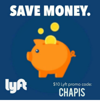 SAVE MONEY.  lyAt  $10 Lyft promo code  CHAPIS Guy's if you out and Drinking Remember don't drink and drive use our Lyft Code (CHAPIS) and get up to $10 in Free Rides! Just download the app from our Bio and use our code! Be Safe🙌🏻 havefun dontdrinkanddrive Lyft tagurfriends latinos losangeles orangecounty california lasvegas denver washington phoenix texas newyork budlight borracho beer entertainment hilarious