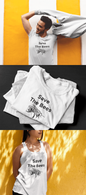 Bad, Destiny, and Food: Save  The Bees   Save  The Bees   Save  The Bees kaylah-koala:  overlookbarkeep: 985374:  sixpenceee:  parissummers:  transcendent-destiny:  sabrina-jessica:   callingalltherejects:  yurilolita:  thenecrodroid:  subliminality:   sixpenceee:   Millions of bees are dying off, with alarming consequences for our environment and our food supply. We rely on bees to pollinate everything from almonds to strawberries to the alfalfa used to feed dairy cows. What happens if the bees disappear? It's simple: No bees, no food. Believe it or not, you have a bee to thank for every one in three bites of food you eat. Scientists know that bees are dying from a variety of factors—pesticides, drought, habitat destruction, nutrition deficit, air pollution, global warming and more. Many of these causes are interrelated. The bottom line is that we know humans are largely responsible for the two most prominent causes: pesticides and habitat loss. (Source  Source) You can order a shirt here A portion of the profits will go to The Honeybee Conservancy   I have never needed a shirt this bad! AND part of the profits are going to The Honeybee Conservancy! I'm sold!   Need to buy   IM BUYING—-   AS A FORMER BEEKEEPER I N E E D THIS   @transcendent-destiny you need this lol  Everyone needs this!!   I JUST BOUGHT ONE, SAVE THE F*CKING BEES  Save the bees!   This is something I can get behind.   Ordered.   I'll always reblog this whenever I see it on my dashboard! 'O'