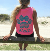 Candy, Dogs, and Memes: Save the dogs in our NEW cotton candy tribal tank top! 🐾
