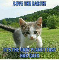 Memes, Earth, and 🤖: SAVE THE EARTH!  IT'STHE ONLY PLANET THAT