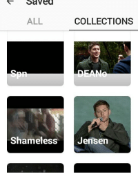 Saved  ALL  COLLECTIONS  Shameless  Jensen i just made so many