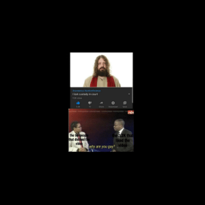 *sad jesus noises*:  #savejesus #justiceforjesus  I lost custody in court  9.8K views  3.2K  Share  Save  10  Download  abs  the 3.2K that  liked the  the ten people  that disliked the  video  why are you gay? ¸video *sad jesus noises*