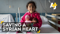 Memes, 🤖, and Limbo: SAVING A  SYRIAN HEART This 5-year-old girl has a serious heart condition and is stuck in legal limbo at a reception center.