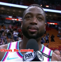 This is the funniest DwyaneWade interview ever 😂💀 @savvy_the_amusing @worldstar WSHH: @Savvy the amusing  SPORT This is the funniest DwyaneWade interview ever 😂💀 @savvy_the_amusing @worldstar WSHH