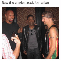 Dank, Meme, and Saw: Saw the craziest rock formation  AUL Top meme of the day.
