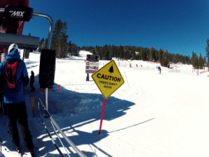 Saw this while skiing today: Saw this while skiing today