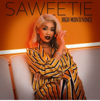 Memes, 🤖, and Her: SAWEETI  HIGH MAINTENANCE Saweetie just dropped her debut HighMaintenance EP. How's it sounding 🔥 or 💩?! @saweetie
