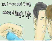 Bad, MeIRL, and Itp: say 1 more bad thing  about A Bugs itp Meirl