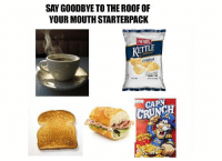 Life, Truth, and Pics: SAY GOODBYE TO THE ROOF OF  YOUR MOUTH STARTERPACK  HERRS  KETTLE  Original  CAPN  CRUNCH  CAPN 20 Pics That Shed Some Truth About Life