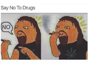 Dank, Drugs, and Memes: Say No To Drugs  NO meirl by migel210 FOLLOW 4 MORE MEMES.