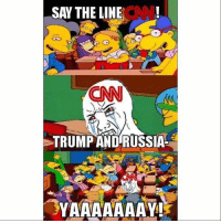 America, cnn.com, and Facebook: SAY THE LINECN  CNN  TRUMP AND RUSSIA  VARAAAAAY Yayyyy! CNN is getting trolled by massive amounts of shitpost 😂 cnnfakenews fakenews veryfakenews trumpmemes liberals libbys democraps liberallogic liberal maga conservative constitution presidenttrump resist thetypicalliberal typicalliberal merica america stupiddemocrats donaldtrump trump2016 patriot trump yeeyee presidentdonaldtrump draintheswamp makeamericagreatagain trumptrain triggered CHECK OUT MY WEBSITE AND STORE!🌐 thetypicalliberal.net-store 🥇Join our closed group on Facebook. For top fans only: Right Wing Savages🥇 Add me on Snapchat and get to know me. Don't be a stranger: thetypicallibby Partners: @theunapologeticpatriot 🇺🇸 @too_savage_for_democrats 🐍 @thelastgreatstand 🇺🇸 @always.right 🐘 @keepamerica.usa ☠️ @republicangirlapparel 🎀 @drunkenrepublican 🍺 TURN ON POST NOTIFICATIONS! Make sure to check out our joint Facebook - Right Wing Savages Joint Instagram - @rightwingsavages
