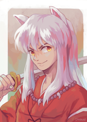 say0ran-arts:  inuyasha!🐶tried painting with a lighter palette since i feel i don't do that very often!: say0ran-arts:  inuyasha!🐶tried painting with a lighter palette since i feel i don't do that very often!