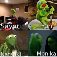 "<p>Looking for wether or not Doki Doki Literature Club memes like this are still valuable. via /r/MemeEconomy <a href=""http://ift.tt/2DLpTMS"">http://ift.tt/2DLpTMS</a></p>: Sayor  ri  Natsuki  Monika <p>Looking for wether or not Doki Doki Literature Club memes like this are still valuable. via /r/MemeEconomy <a href=""http://ift.tt/2DLpTMS"">http://ift.tt/2DLpTMS</a></p>"