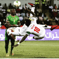 Africa, Memes, and Lion: Sb Senegal flew into the quarter-finals of the CAF Africa Cup of Nations thanks to consecutive 2-0 victories in Gabon. The Lions of Teranga are the first team qualified to the knockout stages at CAN2017. Senegal bicyclekick africa ontothenext